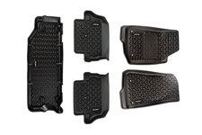 Zestaw dywaników, seria All Terrain, skócony dywanik bagażnika : 18-19 Jeep Wrangler JL 2 drzwiowy