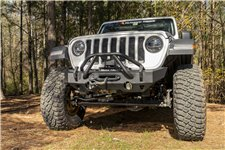 HD Bumper, Stubby, Front : 07-18 Wrangler JK, 18-19 Wrangler JL
