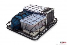 Cargo Net, Rugged Ridge, Roof Rack Stretch Net, Universal