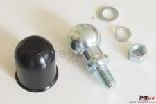 Główka haka holowniczego : kula 50mm z gwintem M18 x 1,5 komplet