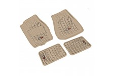 All Terrain Floor Liner Kit, Tan : 05-10 Jeep Grand Cherokee WK