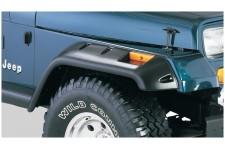 6 elementowy zestaw poszerzeń nadkoli, seria All Terrain, 6 cali : 87-95 Jeep Wrangler YJ