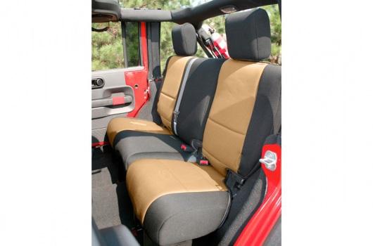 Neoprene Rear Seat Cover : 07-17 Jeep Wrangler JKU