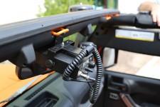 Mocowanie CB Radia : 07-17 Jeep Wrangler JK
