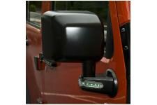 Lusterko zewnętrzne z kierunkowskazami LED, czarne, prawe : 07-17 Jeep Wrangler JK