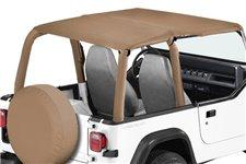 Dach miękki mocowany do orurowania, Spice : 92-95 Jeep Wrangler YJ