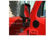 Adapter do przeniesienia lusterek, czarny, 07-16 Jeep Wrangler JK