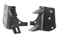 Mocowania oświatlenia na słupku, czarne teksturowane : 97-06 Jeep Wrangler TJ/LJ