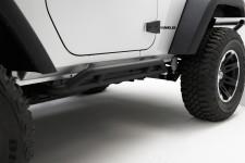Osłony progów RRC, Black, 07-15 Jeep Wrangler JK