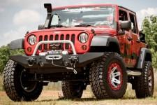 Standardowe zakończenie modułowego zderzaka przedniego, 07-16 Jeep Wrangler