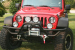 RRC Mount, XHD Modular Front Bumper : 76-17 Jeep CJ/Wrangler YJ/TJ/JK