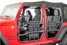 Zestaw torebek do drzwi rurowych, 97-16 Jeep Wrangler TJ/JK