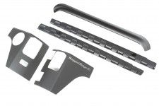 Body Armor Kit, 5-Piece, Smooth : 07-18 Jeep Wrangler JK, 2 Door