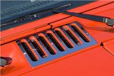 Osłona wlotu powietrza, Stal nierdzewna | 07-16 Jeep Wrangler JK