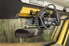 Mocowanie CB Radia nad lusterkiem wstecznym : 97-02 Jeep Wrangler TJ