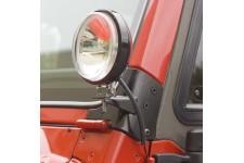 Mocowanie dodatkowego oświetlenia na słupek : 97-06 Jeep Wrangler TJ
