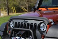 Owiewka maski, Czarny matowy, 07-16 Jeep Wrangler