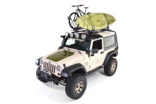 Sherpa Roof Rack Kit : 07-18 Jeep Wrangler JK, 2 Door