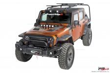 Zestaw - bagażnik dachowy Sherpa, 07-16 Jeep Wrangler JK 4-drzwiowy