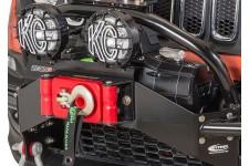 Mocowanie oświetlenia na prowadnicę wyciągarki do zderzaka przedniego, Jeep Renegade