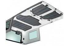 Zestaw paneli wygłuszających do dachu HardTop : 11-17 Jeep Wrangler JK 4 drzwiowy