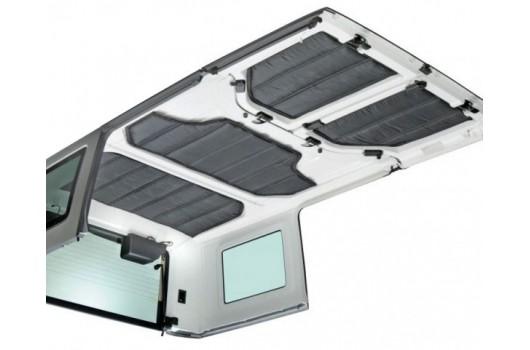 Zestaw paneli wygłuszających do dachu HardTop, 11-15 Jeep Wrangler JK 4 drzwiowy