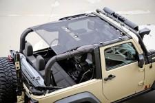 Dach siatkowy typu Eclipse,2-drzwiowy : 07-17 Jeep Wrangler JK