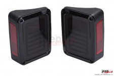 Lampy tylne LED, model BARS, para : wersja europejska, Jeep Wrangler JK 2007+