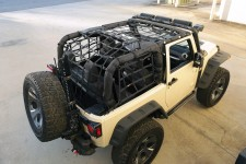 Cargo Net, Black : 07-18 Jeep Wrangler JK, 2 Door