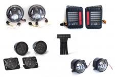 Komplet świateł LED, seria BLADE : 2007 - 2018 Jeep Wrangler JK