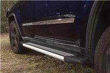 Stopnie wejściowe, aluminiowe, polerowane : 11-18 Jeep Grand Cherokee WK2