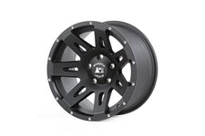 XHD Wheel, 17x8.5, Black Satin : 07-18 JK/JKU