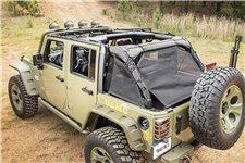 Siatka osłaniająca serii Eclipse : 07-17 Jeep Wrangler JKU