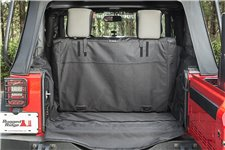 C3 Cargo Cover, 2-Door W/O Subwoofer, 07-16 Jeep Wrangler JK