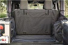 Pokrowiec bagażnika C3, 2 drzwiowy z Subwooferem : 07-14 Jeep Wrangler JK