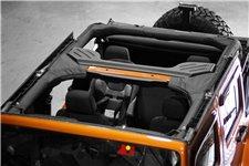 Osłona orurowania, Poliester, 07-16 Jeep Wrangler Unlimited JK