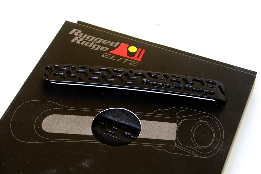 Wkładki do klamek, czarny wzór, 2 drzwiowy 07-16 Jeep Wrangler JK
