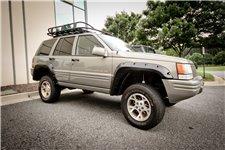 12 elementowy zestaw poszerzeń nadkoli, seria All Terrain : 93-98 Jeep Grand Cherokee ZJ