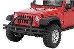 Zderzak przedni rurowy, 3-calowy, Czarny teksturowany, 07-16 Jeep Wrangler