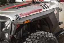 Para przednich poszerzeń błotników serii XHD, 07-17 Jeep Wrangler JK i JKU