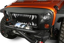 Zestaw SPARTAN Grill $ Zęby Rekina, 07-17 Jeep Wrangler JK