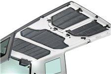 Zestaw paneli wygłuszających do dachu HardTop : 07-10 Jeep Wrangler JK 4 drzwiowy