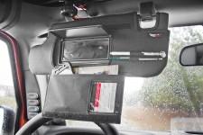 Sun Visor Organizer Kit, Black : 10-18 Jeep Wrangler JK