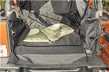 Pokrowiec C3 do bagażnika, z wnęką na subwoofer : 07-14 Jeep Wrangler JKU, 4 Door