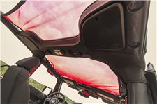 Dach siatkowy typu Eclipse, czerwony, 2 drzwiowy | 07-17 Jeep Wrangler JK