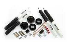 Suspension Lift Kit, Spacer, 1.75 Inch, Shocks : 07-18 Jeep Wrangler JK