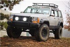 Zestaw poszerzeń błotników | 4-drzwowy, 84-01 Jeep Cherokee