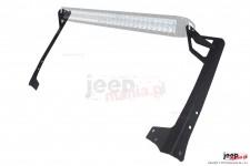 Mocowanie panelu LED nad przednią szybą : 50 lub 52 cale, 07-17 Jeep Wrangler JK