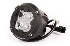 Lampa LED, model ROUND COMBO, dwa tryby strumienia światła