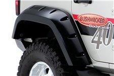 Poszerzenia nadkoli tylnych, Jeep Max Coverage Pocket Style : 07-17 Jeep Wrangler JKU 4D